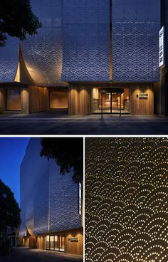 34 Ref Perforated Ideas Perforated Metal Metal Facade Perforated