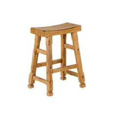 Nebraska Furniture Mart – Sunny Designs 24'' Saddle Seat Counter Stool