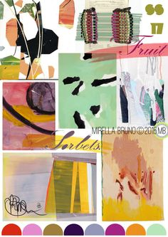 TRENDS // MIRELLA BRUNO - PRINT/GRAPHIC/COLOR INSPIRATIONS . SS 2017