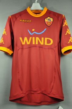 AS Roma 2010 Home Jersey Shirt – Nice Day Sports