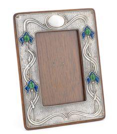A & J Zimmerman - Purely Silver Zimmerman, Beveled Glass, Cut Glass, Makers Mark, Art Nouveau, Frame, Silver, Money, A Frame