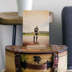 """Our new 5""""x7"""" WoodSnap size is the perfect size to display your custom wood photos on your desk at home or work. Get one for every room. The perfect size for all your Instagram and VSCO photos! Plus it comes with a free stand! #WoodSnap #woodprints"""