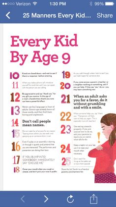 25 Good Things Kids Should Know