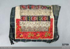 Bröstlapp - Nordiska museet / DigitaltMuseum Anton, Folk, Traditional, Bags, Inspiration, Fashion, Boden, Handbags, Biblical Inspiration