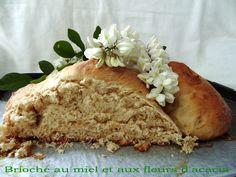 GATEAU GAGA - Love cakes: Brioche au miel et aux fleurs d'acacia