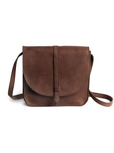 7ff6865b2e The Tirhas is a classic leather saddlebag that can be worn both cross-body  or