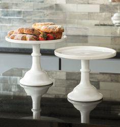 Mosser Pressed Glass Cake Plate | Rejuvenation