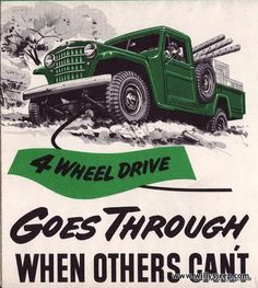 Willys Jeep - Goes Through