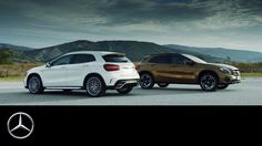 The new GLA: Fitness programme for compact SUV – Trailer – Mercedes-Benz...