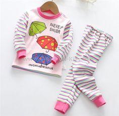 ชุดนอนเด็กลายร่ม (ผ้าหนา) 100(1) 110(3) ~ 359.00 บาท >>