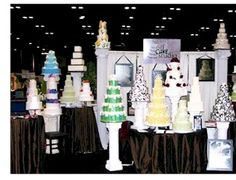 bridal+show+cake+booth   ... booth to help win wedding jobs, or a local baker could show off his or