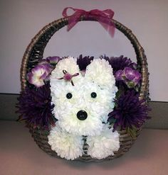 AUCTION to Benefit JCAPL, Animal Rescue!   Silk Floral Basket Arrangement...Pretty in Purple! Gorgeous woven basket with a burst of color! Donated by Lori Diebold.  Link to view all auction items and place a bid: https://www.facebook.com/media/set/?set=a.10152703514929549.1073741859.74160789548&type=1
