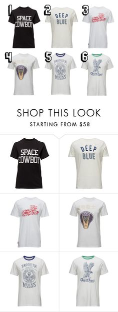 tees by silas-kieffer on Polyvore featuring men's fashion and menswear