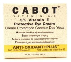 Cabot Labs Vitamin-E Eye Cream .5 oz. (3-Pack) with Free Nail File by Cabot Labs. $32.99