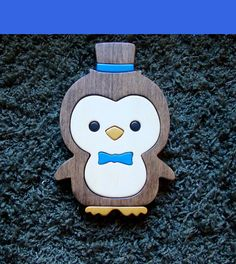 Penguin trivet or Wall HangingHandmade various woods by zzbob, $43.50