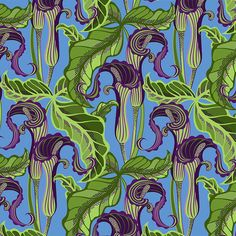 Jack-in-the-Pulpit, Violet, from the Sunshine and Shadow collection for FreeSpirit.