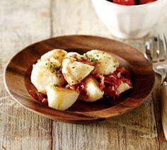 브런치 감자, 브로콜리 방울 토마토 샐러드