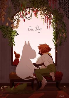 Or just avril or gaël Moomin Wallpaper, Les Moomins, Moomin Valley, Tove Jansson, Book Illustration, Kawaii, Cute Art, Troll, Concept Art
