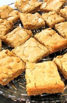 Low FODMAP Recipe and Gluten Free Recipe - Butterscotch bars http://www.ibs-health.com/low_fodmap_butterscotch_bars.html