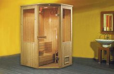 Monalisa M-6008 internal control sauna room Finland saunas sauna bath house dry sauna enclosure sauna house European style Dimension: 1200*1200*2000mm Home Steam Sauna, Sauna House, Sauna Room, Portable Sauna, Portable House, Sauna Kits, Traditional Saunas, Dry Sauna, Sauna Design