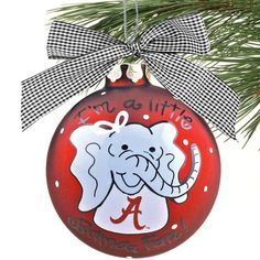 Another Crimson Tide Ornament!