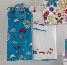 Bambini Race Track by Kassatex, Bath #Towel $20.99