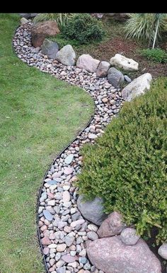 Landscaping With Rocks, Outdoor Landscaping, Front Yard Landscaping, Outdoor Gardens, Landscaping Ideas, Acreage Landscaping, Garden Yard Ideas, Lawn And Garden, Backyard Ideas