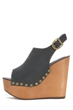 Jeffrey Campbell Shoes SNICK-STUD in Black