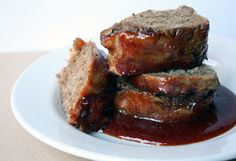 How To Make Marvelous Meatloaf (with bacon!) --  can make ahead of time and freeze til needed