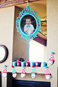 Manny's 1st Birthday Party {Part 1}