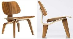 """Molded Plywood Lounge chair. """"Take your pleasure seriously"""", Charles Eames."""