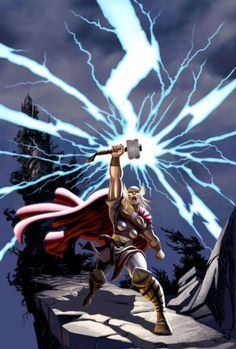 Title: Thor: Tales of Asgard Director: Sam Liu Starring: The voice talents of Clancy Brown, Rick Gomez and Chris Britton Running Time: Unrated, Comic Book Characters, Marvel Characters, Comic Character, Comic Books, Marvel Art, Marvel Dc Comics, Marvel Avengers, Marvel Animation, Animation Series