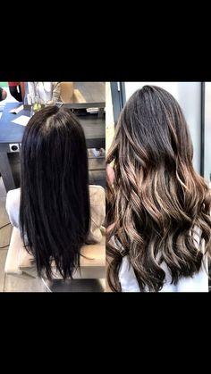 Balayage Hair, Brown Hair, Long Hair Styles, Beauty, Hairdressers, Dressmaking, Brown Scene Hair, Long Hairstyle, Long Haircuts