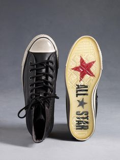 All Star Embossed Chuck Taylor by John Varvatos. #converse