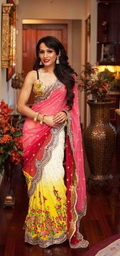 Indian Weddings Fahsions. VAMA Designs https://www.facebook.com/VamaDesigns. Repinned by IndianWeddingsMag.com