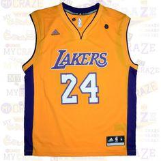 LA LOS ANGELES LAKERS #24 BRYANT AUTHENTIC NBA ADIDAS JERSEY #Jersey  #NBA #Adidas #LosAngelesLakers #Lakers