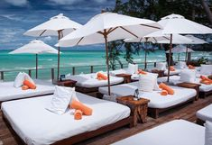 View deals for Nikki Beach Resort & Spa. Guests enjoy the beach locale. Lipa Noi Beach is minutes away. WiFi is free, and this resort also features 2 outdoor pools and a spa. Thailand Beach Resorts, Tropical Beach Resorts, Resort Plan, Resort Interior, Nikki Beach, Beach Place, Koh Samui, Outdoor Travel, Bedroom Beach