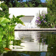 Polyester Feature Walls A great Feature Wall a fantastic alternative to Fences and Brick New to our range are the Polyester Walls These are extremely Free Standing Wall, Weathered Furniture, Pool Water Features, Landscape Elements, Garden Features, Decoration Design, Garden Planters, Water Garden, Pond
