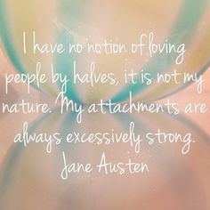 Love life quotes Jane Austen