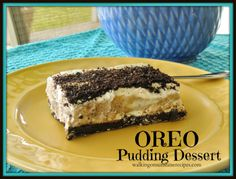 Walking on Sunshine: Oreo Pudding Dessert #apeekintomyparadise #wakeupwednesdaylinky #recipe