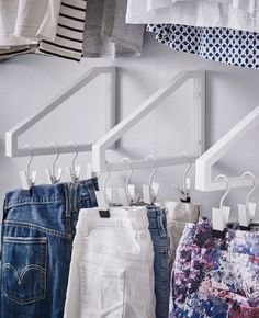 Use wall brackets for hangers - CosmopolitanUK
