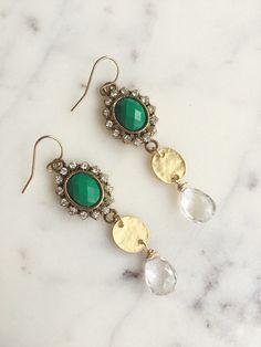 Antique Drop Earrings | Pixie Belle Jewelry