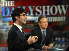 Jon Stewart is on a break from The Daily Show to record his first feature film. Do you think Daily Show correspondent John Oliver is working out well as his summer replacement?