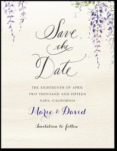 Lovely Union Signature White Save the Date Cards Petite Alma
