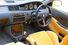 Eg with yellow bucket seats Honda Civic Coupe, Honda Civic Hatchback, Honda Civic Si, Civic Sedan, Civic Jdm, Soichiro Honda, Honda Motors, Honda Cars, Japan Cars