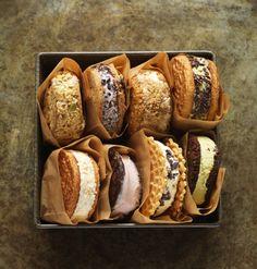Recipe for ice cream sandwiches you make at home - The Boston Globe