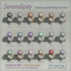 Serendipity - Diamond Ball Ring Gatcha | Flickr - Photo Sharing!