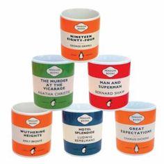 Penguin Classic Book Mugs