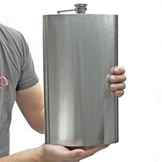 LOL : ) ...  Sasquatch 128oz Extremely Large Flask..After the weekend I just had I think I could use one of these.