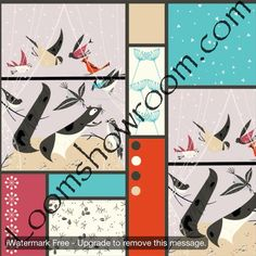Charley Harper Fabric Line at Loomshowroom.com
